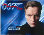 Toby Stephens (Gustav Graves)  007 DIE ANOTHER DAY BOND Genuine Signed Autograph 10 x 8  - 10705